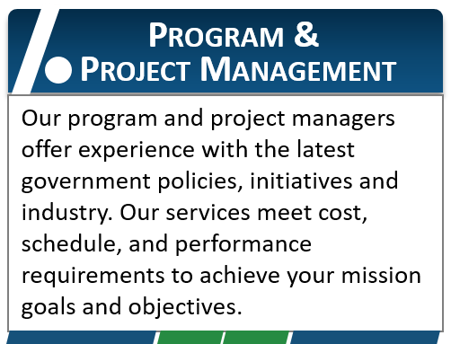 Program & Project Management Banner Banner